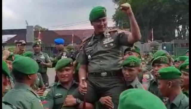 Permalink ke Pimpin Korem 032/Wirabaja, Kol Inf Kunto Arief Wibowo Siap Jalani Tugas