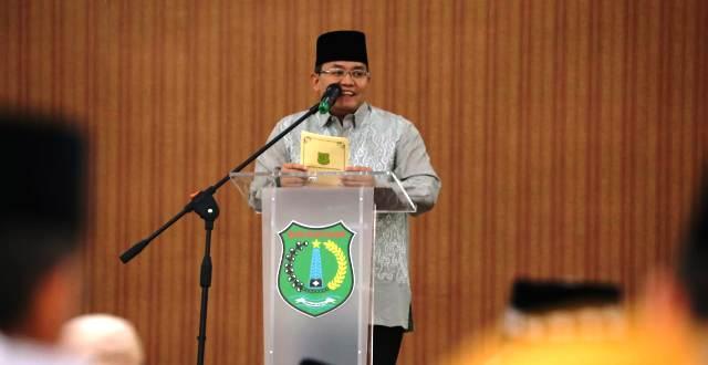 Permalink ke Safari Ramadhan dengan FKPD, Dodi Perkenalkan Kajari Muba Baru