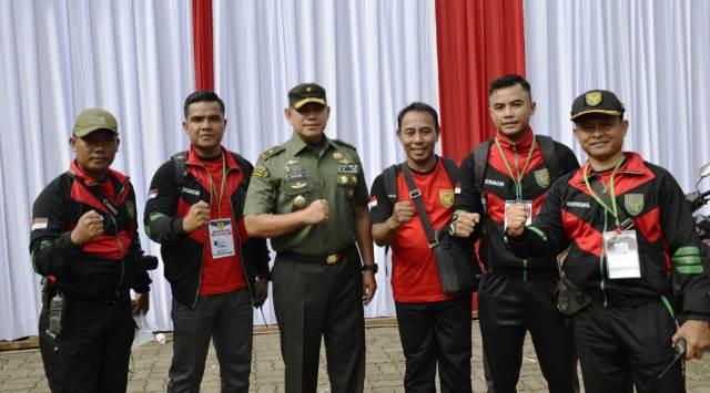 Permalink ke 27 Atlet Kodam II/Swj Ikut Kejurnas Karate Panglima TNI ke-VII 2019