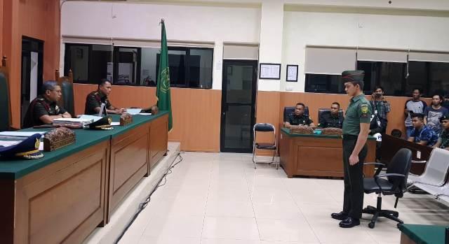 Permalink ke Prada Deri Divonis Penjara Seumur Hidup Dan Dipecat Dari TNI