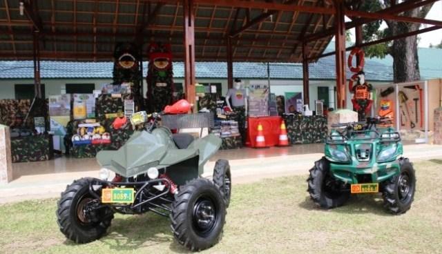 Permalink ke Dukung Ops Pamtas, Korem 032/Wbr  Buat Motor ATV