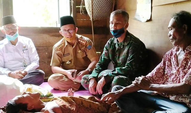 Permalink ke Kakak Beradik Penyandang Disabilitas di SP. Padang OKI Sudah Di Jamin