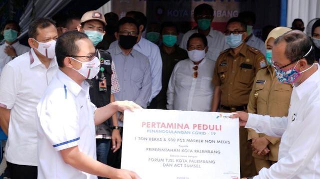 Permalink ke Pertamina Salurkan 1.000 Paket Sembako, 1 Ton Beras, dan APD