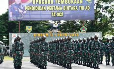 Permalink ke Kodam II/Swj Buka Pendidikan, 440 Calon Prajurit Bintara di Didik di Rindam