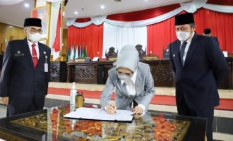 Permalink ke DPRD Sumsel Gelar Paripurna Rekomendasi Dewan Terhadap LKPJ Gubernur 2020