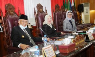 Permalink ke Wagub Mawardi Sampaikan Jawaban terhadap Pemandangan Umum Fraksi-Fraksi DPRD Sumsel