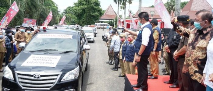 Satu Ambulan Satu Desa untuk 3500 Desa/Kelurahan se Sumsel