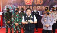 Permalink ke Usai Divaksin Covid-19, 2000 Personil TNI/ Polri Siap Membantu Pemerintah Tegakkan Prokes