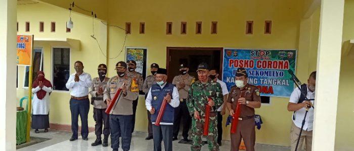 Polres OKU Timur Resmikan Kampung Tangkal Corona