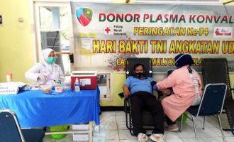 Permalink ke Jelang Hari Bakti TNI AU ke-74, Lanud SMH Gelar Donor Darah Plasma