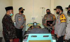 Permalink ke Kapolda Besuk Anggota Polisi Yang Tertembak di OKU Timur