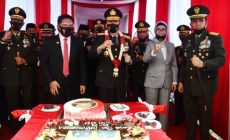 Permalink ke Pangdam II/Sriwijaya Berikan Surprise Kue Ultah Kepada Kapolda Sumsel