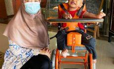 Permalink ke Kursi Roda Bioteknik Bantuan Kemensos Kembalikan Senyum Ripki
