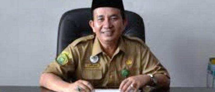 Drs H Zahdi Taher MH.I Jabat Kakanwil Kemenag Bengkulu